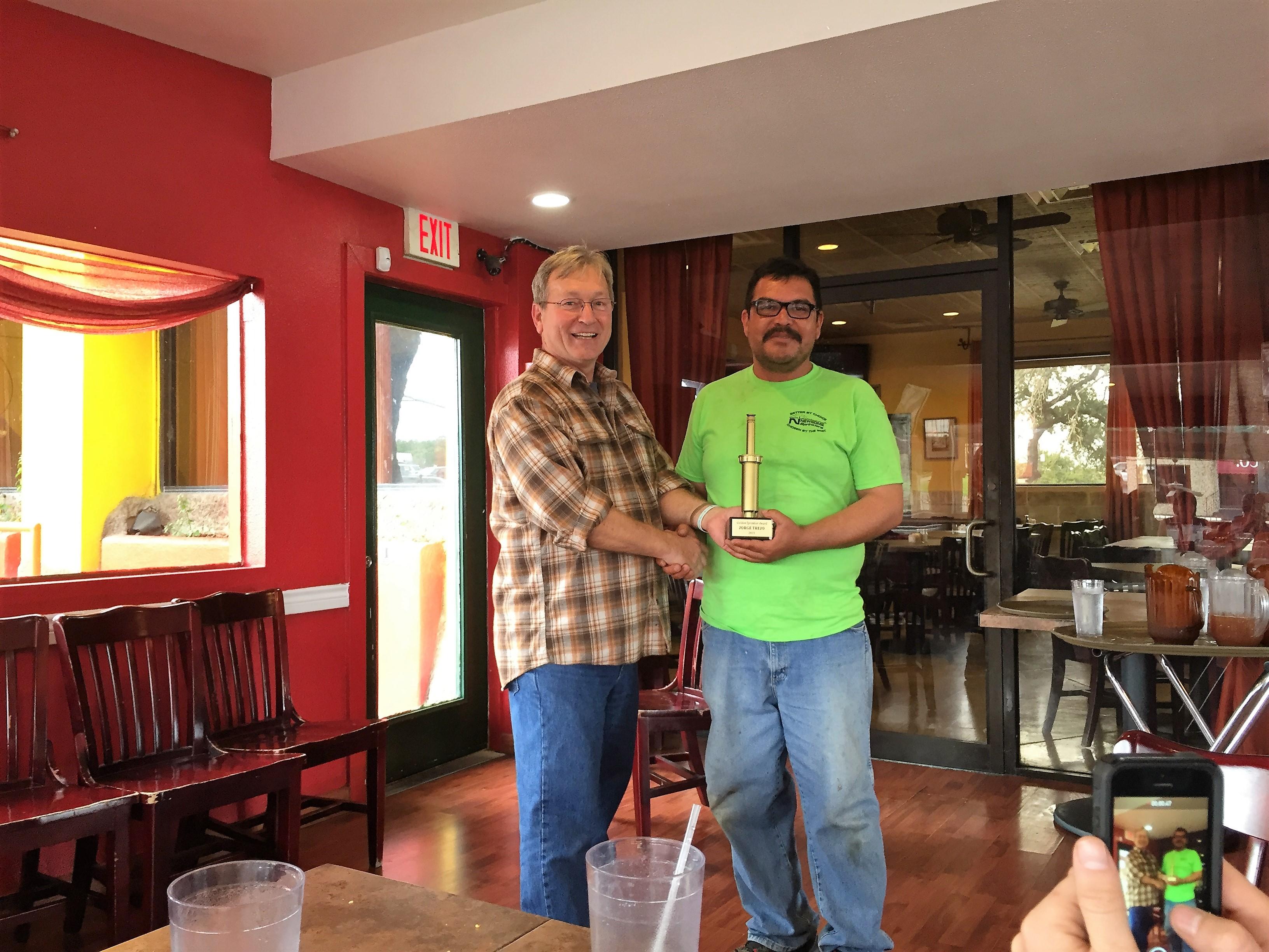 Golden Sprinkler Award Winner