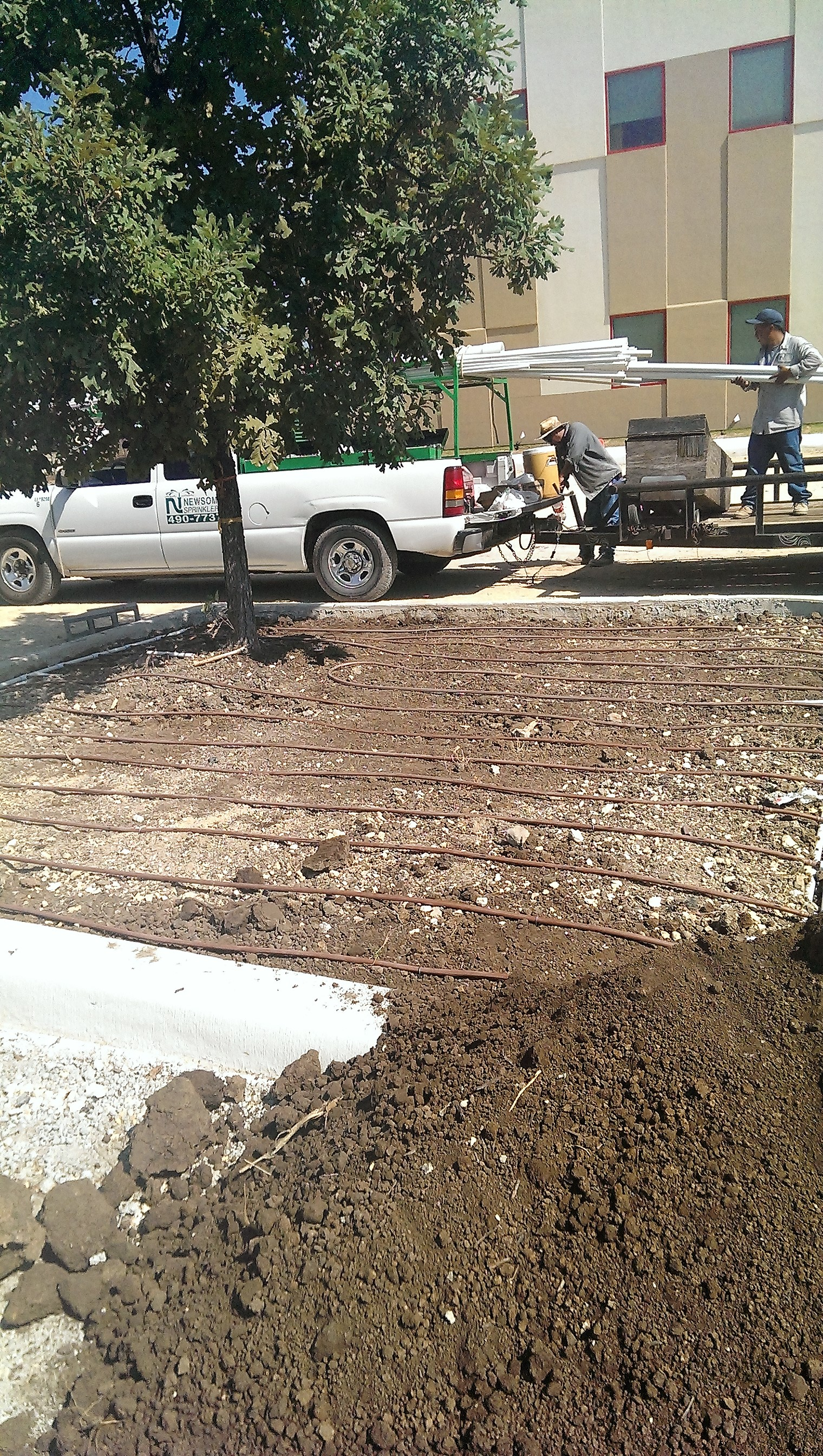 Drip Irrigation Installation for Commercial