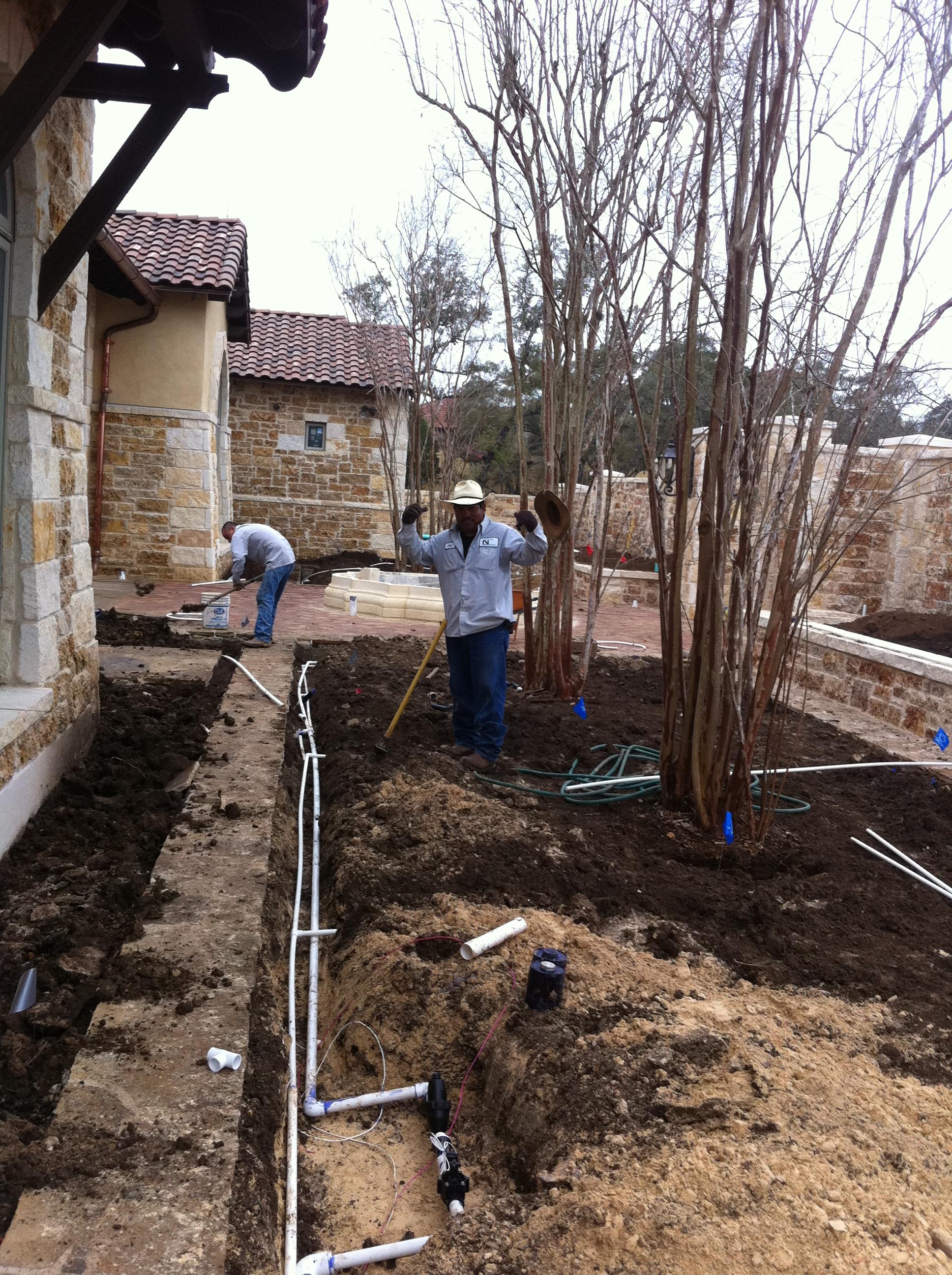 Drip & Irrigation System Install