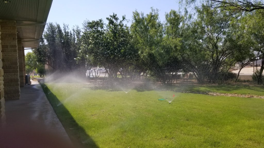 Installed Irrigation and Sprinklers